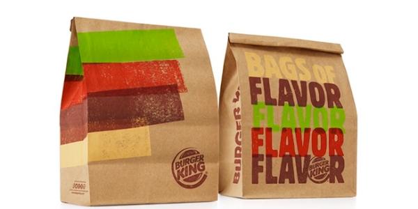 Nova Embalagem Burger King