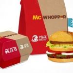 O Rei do Burger King e o Palhaço do Mc Donald's podem se unir pelo dia internacional da paz