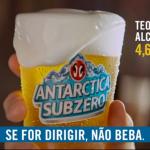 Cerveja Antarctica foi muito criativa em seu novo comercial