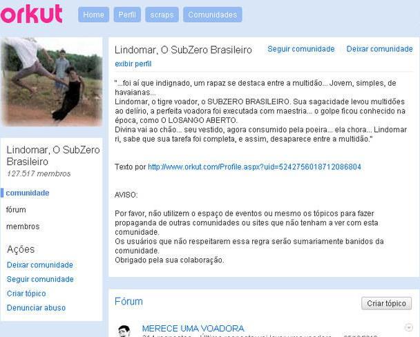 Comunidades do Orkut