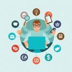 Como a busca de compra conectada e o comportamento social on-line mudaram: 10 tópicos