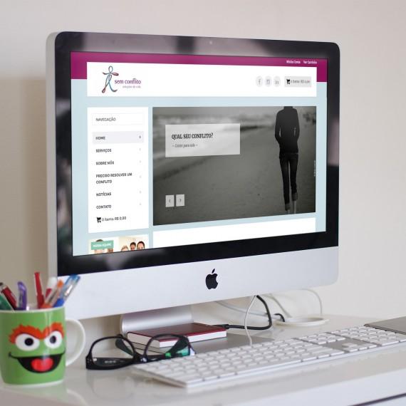 Site com sistema de gerenciamento